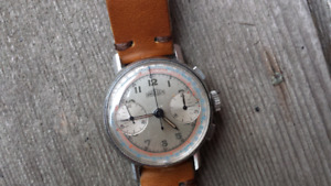 Vintage Angelus chronograph from 1940s Rolex