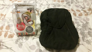 Baby carseat cover for winter.