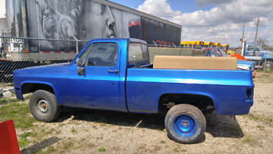 1987 Chevy short box. 2wd