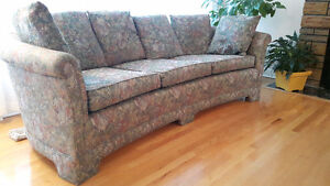 Sofa - solid, clean in excellent condition