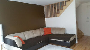 3 bedrooms townhouse all furnished