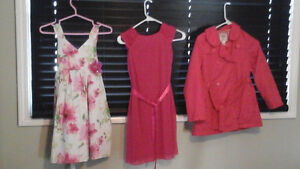Girls dresses and coat