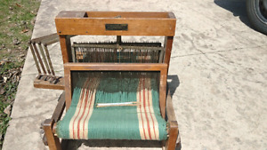 Antique table top loom