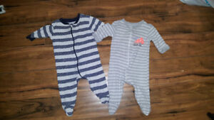 3-6 month sleepers 1$/both