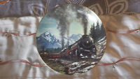 """T. Xaras Fine Porcelain """"THE DOMINION"""" -   Steam on the CPR"""
