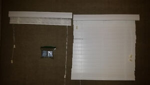 Two Window Blinds White