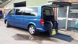 2010 VW Caravelle 2.0BiTDI ( 180PS ) Wheelchair Disabled Accessible Vehicle