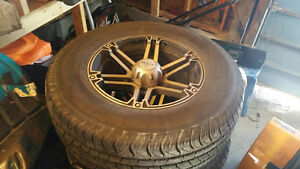 tires and rims low mileage Kawartha Lakes Peterborough Area image 3