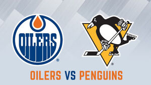 Tuesday October 23rd - Edmonton Oilers vs Pittsburgh Penguins