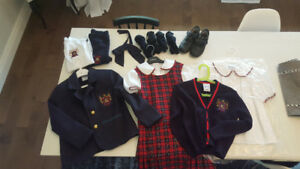 Academy Marie Claire school uniform, never used