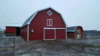 Need a new barn or shop? Or your existing one refaced?