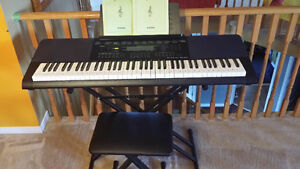Casio Keyboard Bundle with Bench & Stand @ $280.00