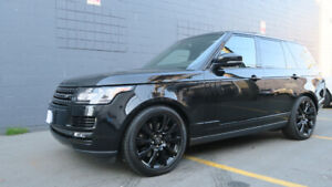2013 Range Rover Supercharged Black Package 5 Year Warranty!