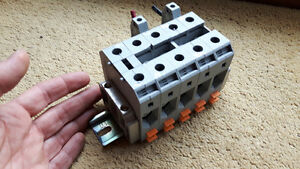 LARGE WIRE GAUGE TERMINAL BLOCKS (5 pcs) Set