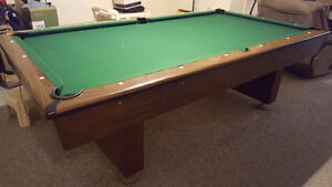 4'x8' Slate Pool Table for sale
