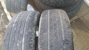 2x 225/70R16 Toyo Open country