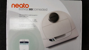 New Neato Botvac D3 Connected Robot Vacuum