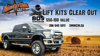 BDS Lift KIts Clear Out