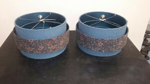 Lamp Shades - art deco - two