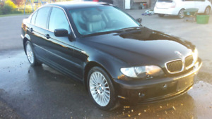 2002 BMW 330xi All wheel drive