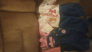 2 Toddler Girl Outfits