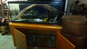 75 gallon fish take with 35 gallon res with many accessories 400