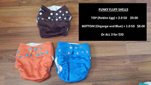 Cloth Diapers (One-Size, Pocket Style)