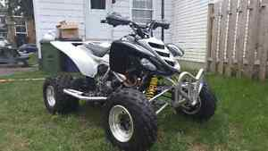 yamaha raptor 660r echange possible