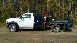 Dodge Ram 5500 SLT Picker Truck (Ferrari)