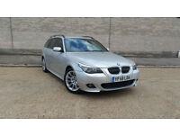 2008 58 BMW 525 3.0TD auto d M Sport Touring +HUGE SPEC inc WIDESCREEN NAV+