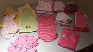 Lot de vêtements d'été pour fille, 24 mois