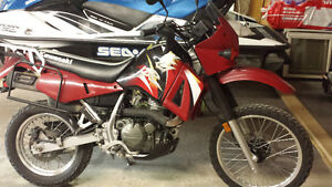 2004 KLR 650 with only 12,500kms