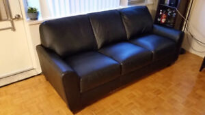 Leather Sofa (Couch)