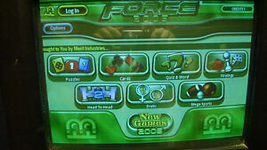 Selling inventory of Touchscreen City - arcade games.