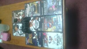 Ps2 with 4 games, controller and internet hookup