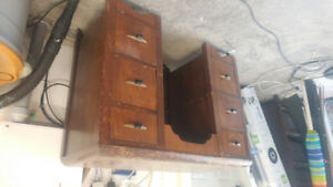 Antique desk/dresser