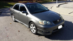 EXCELLENT DEAL FOR FULLY LOADED 2005 TOYOTA COROLLA XRS!