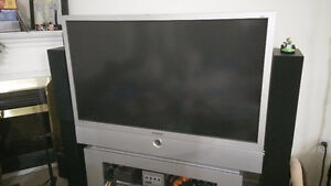"""Samsung 50"""" Widescreen Projection HDTV (+ extra brand new lamp!)"""