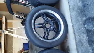 17 INCH SACCHI SUMMER TIRES AND WHEELS. Cambridge Kitchener Area image 7