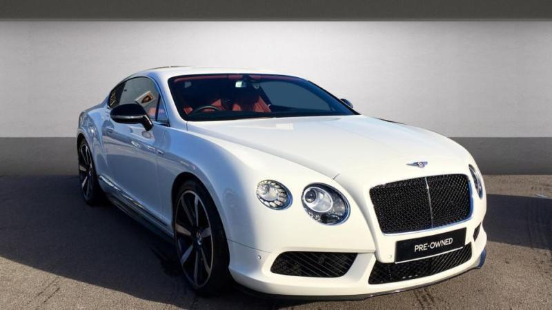 2014 Bentley Continental Gt 40 V8 S 2dr Automatic Petrol Coupe In