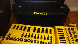 Stanley 235 piece tool set in Black Chrome Kitchener / Waterloo Kitchener Area image 2