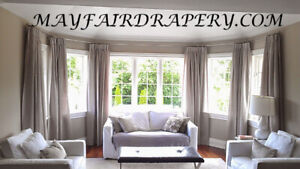 CUSTOM DRAPERY & BLINDS- REDECORATE YOUR HOME NOW!