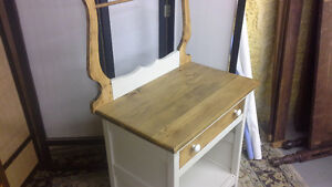 Pine Washstand/ Microwave Hutch Peterborough Peterborough Area image 2