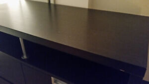 Ikea TV stand with two large drawers $75 (sells new for $200)