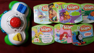 Little leaps game system for baby and toddler