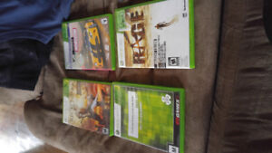 250gb xbox 360 with 4 games
