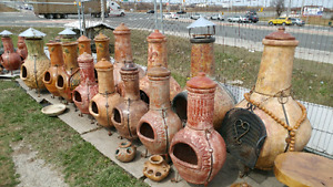 Chiminea selection from Mexico