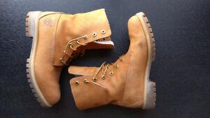"Timberland Winter Premium Wheat Nubuck Boots 10"""