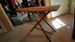 Vintage Solid Wood Ironing Board