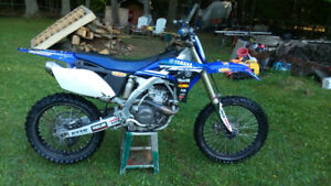 2010 Yamaha yz250f motorcross race bike